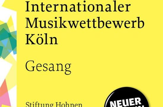 International Music Competition Cologne 2021